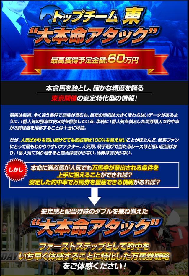 トップチーム_大本命アタック