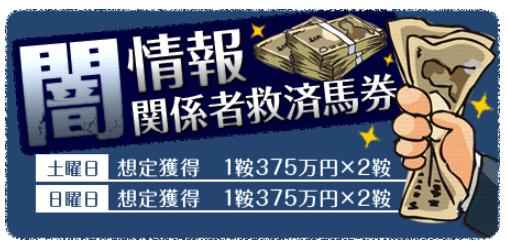 金馬券の有料予想_闇情報関係者救済馬券